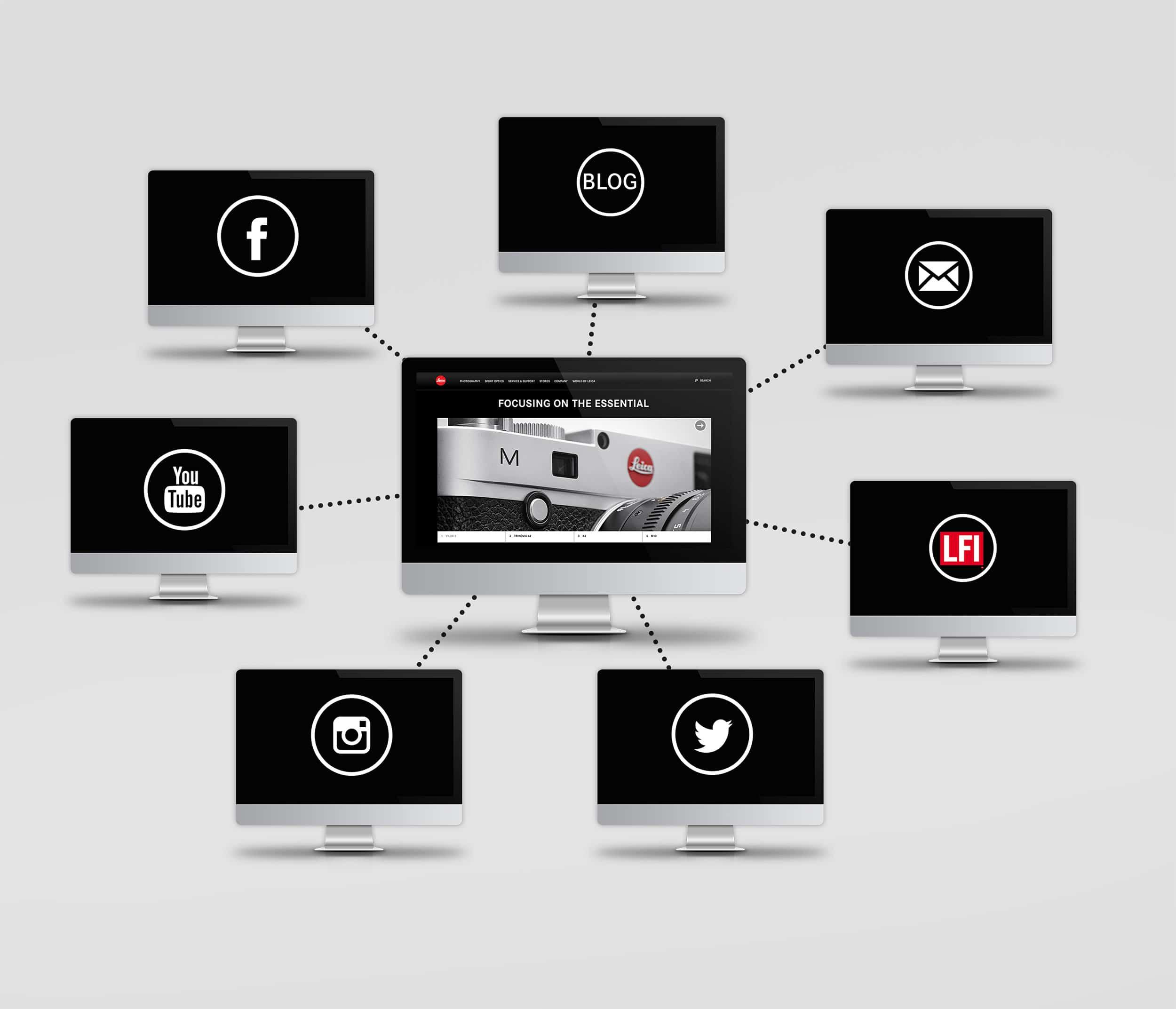 Leica Website Relaunch | Text & Konzept