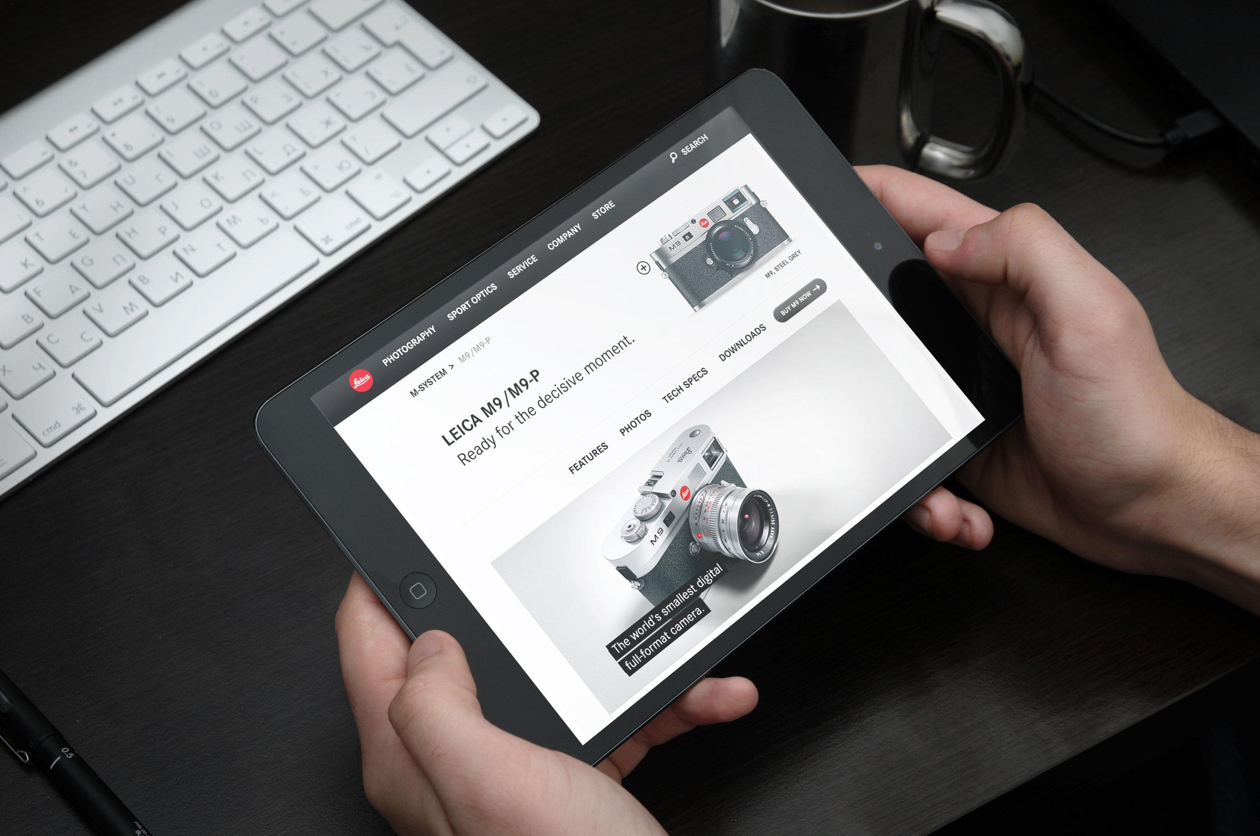 Leica Website-Text