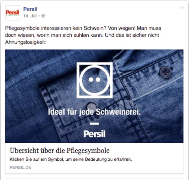 Social Media Text Persil