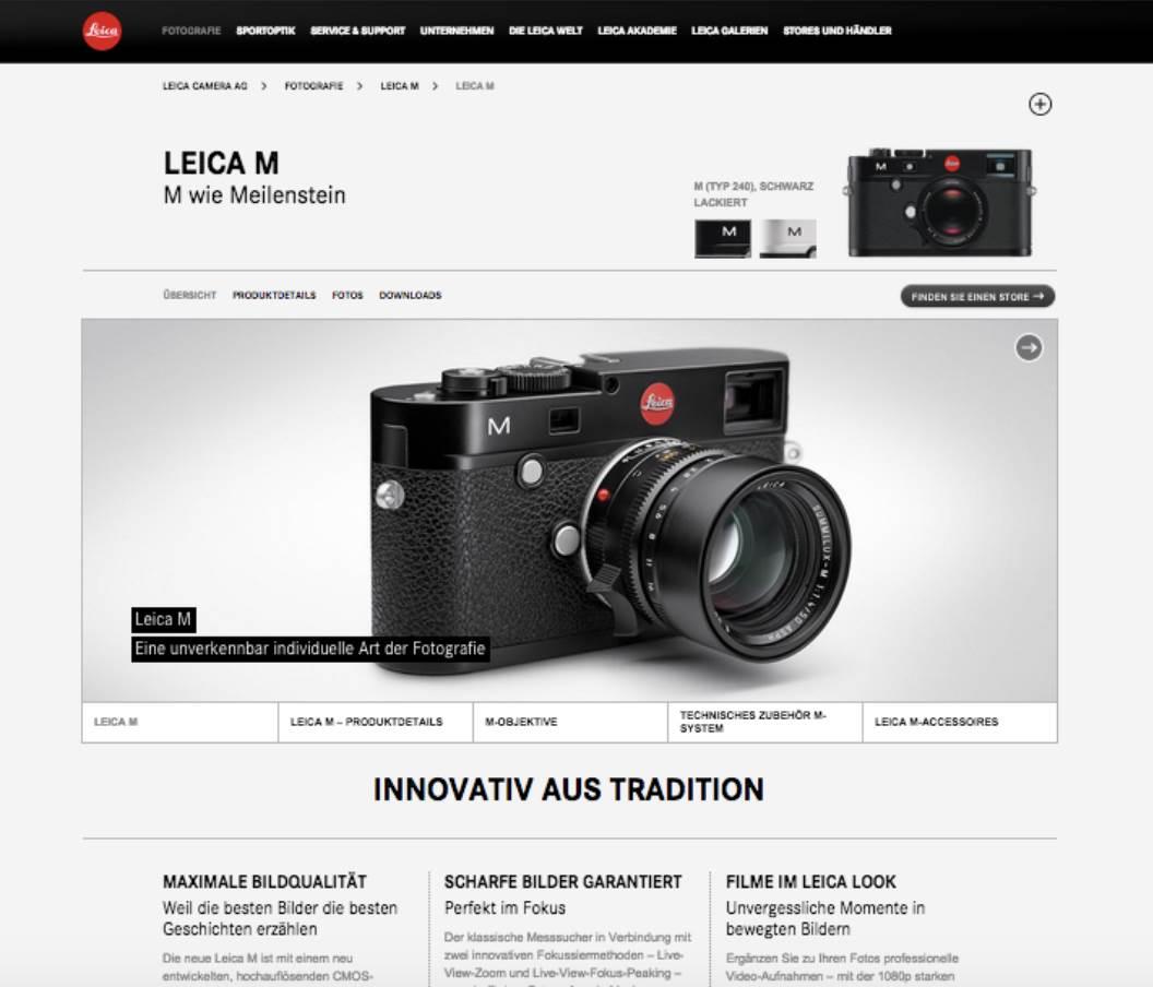 Leica Website Text 1